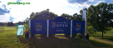 Canadian Open sign